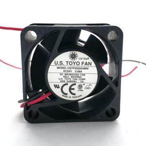 Orignal USTF402024MW DC24V 0.08A USTF402012MW DC12V 0.10A 40x40x20MM 2Lines Cooling fan