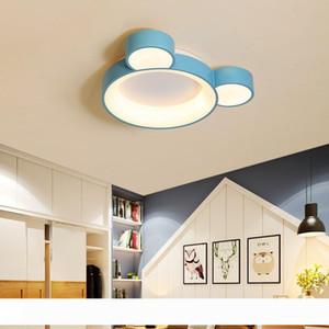 580x450mm Bianco Rosa Blu Finito principali moderne luci di soffitto Per Kid Camera dei bambini in camera da letto Lampada da soffitto Fixture
