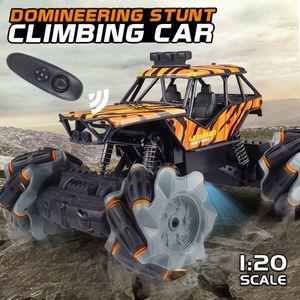 Refroidir Remote Control escalade Stunt Car Dominatrice voiture télécommandée 4 Wheel Drive cadeau Kid dérive de froid