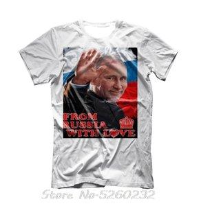 t-shirt Poutine président russe Vêtements putin armée russie T-shirt Fashiont shirt militaire T-shirts Streetwear