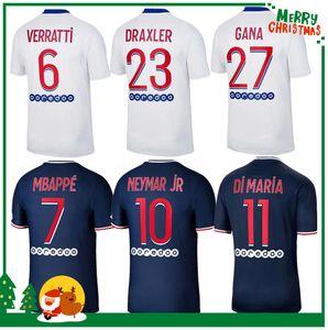 Maillots دي كرة القدم MBAPPE ICARDI NEYMAR قميص JR PSG 20 21 جيرسي لكرة القدم 2020 للرجال + الأطفال عدة مجموعات مايوه موحد دي البشر القدم منظمة أطفال