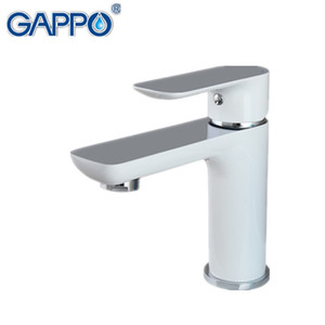 GAPPO new white brass bathroom basin faucet hot and cold water faucets mixer sink tap bath washbasin faucet vanity grifos G1048