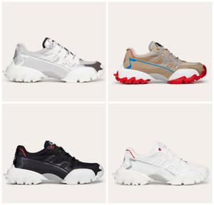 Klassische Männer Frauen Bergsteiger Turnschuhe aus Stoff aus echtem Leder 13 Farben vLOGO Gummisohle Luxus-Designer-Schuhe