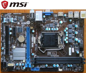 MSI B75MA-E33 ursprünglichen Motherboard LGA 1155 DDR3 für i3 i5 i7 CPU 32GB USB3.0 SATA3 B75 Desktop-Motherboard-Boards