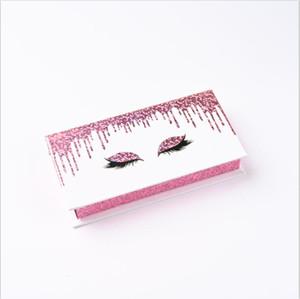 Wholesale Eyelashes Package Lash Boxes New False Eyelash Packaging Box Fashion Rectangle Eyelashes Case Without Tray Bulk Vendor