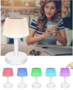 lampada ricaricabile lampada da comodino lampada bluetooth audio multi-funzione di protezione per gli occhi la luce di apprendimento scrivania nuovo prodotto tabella colorata LED