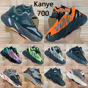 Kanye West Runner 700 Vanta Onde utilitaire noir chaussures de course des femmes des hommes bottes de solide gris OG sel Inertie analogique Tephra Geode