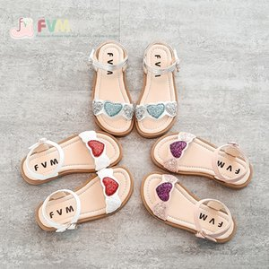 Girls' Sandals and sandals 2020 New Fashion Net Red Princess soft bottom anti-skid children's baby Summer shoes