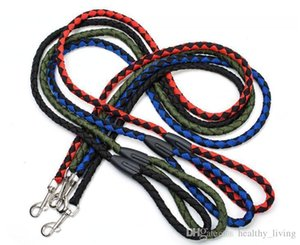 Nylon Leashes Pet Products For Large Dog Leash Collar Harness Puppy Pet Cat Accessories Breakaway Dog Leash Lead Basic Collars Top Quality