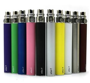 Т батарея эга 650mAh 900mAh 1100mAh Vape ручка батарея E сигарета батарея 510 резьба 10 цветов 5pcs / Упаковка для eJuice Атомайзер испаритель