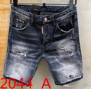2020 Person para hombre de la nueva manera de Acacia jeans rasgados cortos Ropa de la marca de Verano Pantalones cortos transpirable pantalones cortos de mezclilla masculino