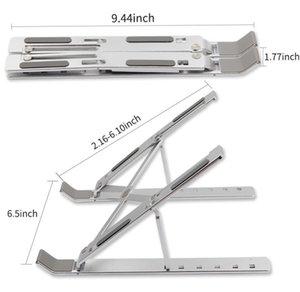 10-15,6 İnç Dizüstü Tabletler için Laptop sehpaları, alüminyum Alaşım Masası Laptop mjhome için 6 konumlu Ayarlanabilir Yükseklik Taşınabilir Tutucu Stand Jol