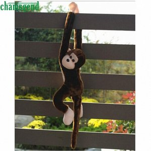 Cute Long Arm Tail Monkey Plush Toy Doll Gibbons Kids Gift Coffee Hanging Doll AUG 25 wb7M#