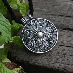 lanseis 1pcs norse Slavic Lunula Woman's Necklace viking jewelry for women MORAVIA, Lunitsa, Slaves Ethnic pendant