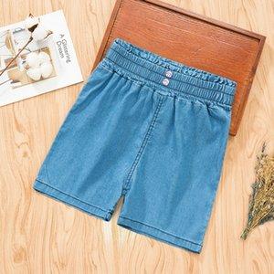 AtmYe ragazze shorts in denim pantaloncini slip casuale panty 2020 nuovo abbigliamento estivo stile coreano hot pants estate esimo medie casual e grandi per bambini