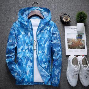Unisex Mantel Sonnenschutz Haut Kleidung Tarnjacken windproof Sonnenschutz UV Outdoor-Sport regen Mäntel Wandern