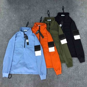 2020 stones compass brand classic luxury designer men coats embroidery Europe America coats Leisure cotton sport Wild Pullover jacket