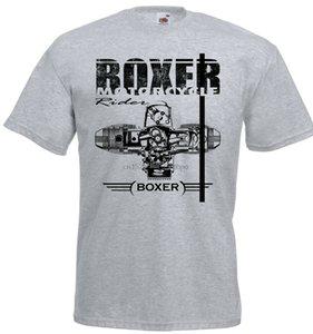 Boxer Motorcycle Engine Motorrad Racing T-Shirt Fashion 2020 Crew Neck Men Short-Sleeve Casual Tee Shirt