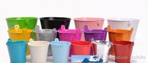 High quality, low price, factory direct sales mini pails wedding favors, mini bucket, candy boxes favors,favor tins