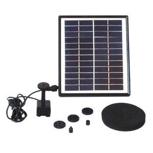 200L H 12V 5W Solar Fountain Water Pump Kit Solar Powered Outdoor Garden Pond Fountain for for Bird Bath, Small Pool