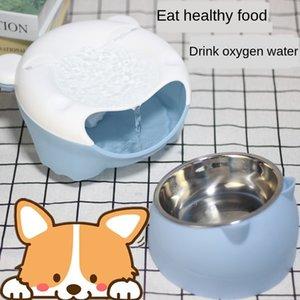 Pet kedi köpek otomatik filtre dağıtıcı su sebili büyük ağız ayı filtresi dolaşan oksijen elektrikli su kase orijinal fabrika
