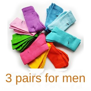 3 coppie di spessore | Americana NK uomini e asciugamano dimensione media macaron colori lunghi di sport calze sportive delle donne