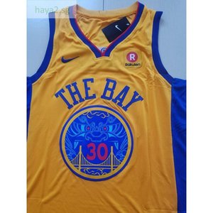 Cheap 309 Basketball Jerseys Men Sprorts Wear the Bay Curry #30 S-xxl Top Stitched Jersey