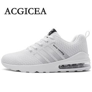 ACGICEA NUEVO 2020 zapatos corrientes de aire respirable Sole zapatillas de deporte de los hombres a estrenar antideslizantes Wearable Calzado deportivo Casual raya los amantes del tamaño