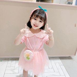 2020 Yaz kızın giyim kadın giyim Fashio 2020 kadın moda Huzhou Zhili elbise iki parçalı set Bebeğin elbise kızın elbiseleri ogrsR