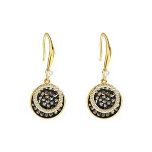 High Grade Women Pendant Studs Fashion Diamond Ornament Female Studs Birthday Gift For Lady Elegant Earrings