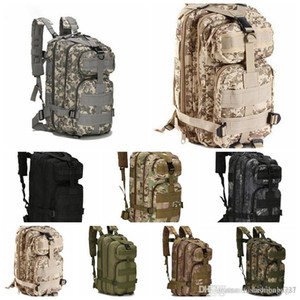 10 colors 3P Outdoor Tactical Backpack 30L Camping bag Army Trekking Sport Travel Rucksack Camping Hiking Trekking Camouflage Bag 50l GONNE