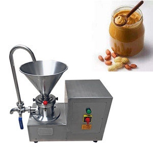 HOT Commercial Automatic Peanut Butter Grinding Maker Food Processor Colloid Mill 4.1L Hopper 2.2KW