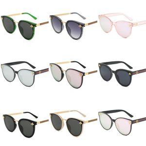 New Fashion Trend BLAZE ROUND Style Sunglasses Vintage Retro Brand Design Color Mirror Sun Glasses Women Oculos De Sol Flash Lens Gafas#891