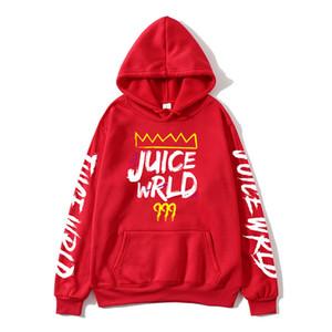 Rouge Noir Blanc J UICEWrld sweat à capuche jus Wrld Juicewrld piège Rap arc-en-Glitch Monde Homme Sweat-shirt
