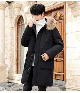 Best-selling New Winter Men's Classic Brand Casual Down Jacket Fashion High Quality Warm Windproof Coat Down Jacket Men's Winter J