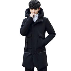 Acacia Person Новые мужские зимние куртки Теплый Твердая Шинель с капюшоном Толстые пальто Верхняя одежда Одежда Мужской ветровки моды Top