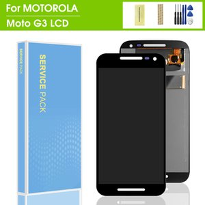 Motorola MOTO G3 XT1540 XT1541 XT1543 Ekran Dokunmatik sayısallaştırıcı Kurul Yedek İçin% 100 test edilmiş LCD