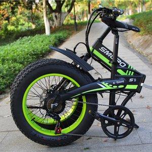 중국 제조 업체 20 인치 E 자전거 48 V 1000 W 팔방 모터 Fatbike 14AH 샘 성 배터리 전기 자전거