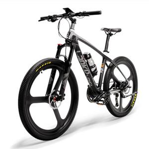 26inch Electric Bike Carbon Fiber Frame 240W Mountain Torque Sensor System Oil and Gas Lockable Suspension Fork ebike