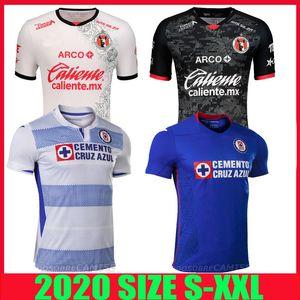 20 21 Xolos Club Tijuana camiseta de fútbol Cruz Azul 2020 2021 Sanvezzo Miler Camisetas camisa de México liga mx hombre niños de fútbol de Tailandia