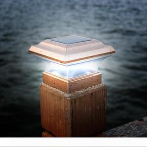 BRELONG Открытый Солнечный свет Столб Courtyard Villa Столб Свет Пейзаж сада Забор Вложение свет IP44 Водонепроницаемый
