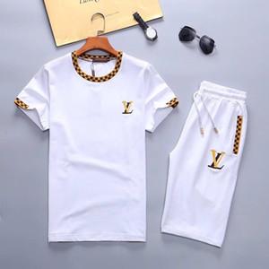 Yaz moda yeni Medusa erkekler kısa elbise spor erkek spor giyim kısa kollu elbise baskı kısa kollu erkek spor giyim
