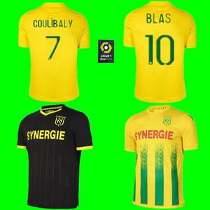 20 21 FC Nantes futbol forması ev uzakta maillot de foot 2020 2021 Nantes SIMON Louza A TOURE BLAS COCO COULIBALY formalarını