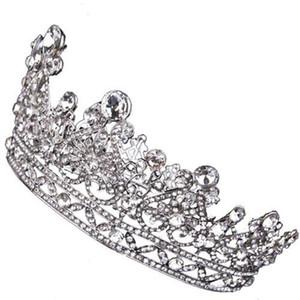Luxury Wedding Bridal Crystal Tiara Crowns Princess Queen Pageant Prom Rhinestone Tiara Headband Wedding hair accessories Party