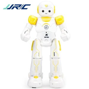 wholesale JJRC R11 JJRC R12 USB Charge Control Gestures Dancing Robot Remote Control Toy Blue Pink Birthday Gift For Children
