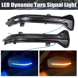 2PCS LED 동적 전원을 켜고 신호 깜박이를 들어 BMW 3 시리즈 G20 G21 G28 G2X 2019 2020 순차 사이드 미러 표시 등