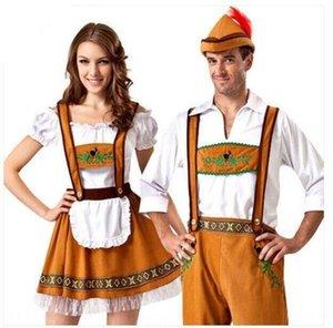 Halloween German beer Couple Watch festival khaki beer wo couple performance clothing men's adult women's clothing