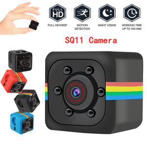 SQ11 Full HD HD 1080P Mini caméra Night Vision Caméscope Portable Micro Sport Cameras Video Recorder DV Caméscope (pas inclure la carte TF)