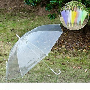 clear umbrella colorful umbrellas transparent umbrella long handle umbrella for girls women dance performance best wa3235