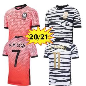 2020 camiseta de fútbol del Sur Corea del Sur SON 20 21 Corea del hogar lejos negro HYUNG KIM LEE KIM Ho Son JERSEY Fútbol de encargo S-XXL